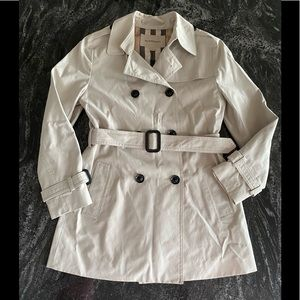 Authentic Burberry Kids Classic Trench Coat